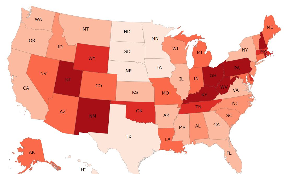 National Heroin and Opioid Overdoses - 2014