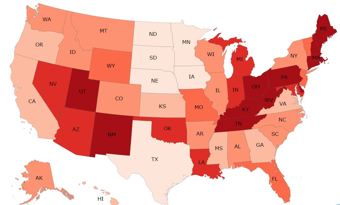 National Heroin and Opioid Overdoses - 2015